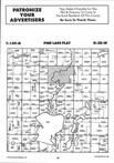 Map Image 020, Clearwater County 1998 Published by Farm and Home Publishers, LTD